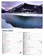 Cadini sul Lago de Antorno, 45x30 cm